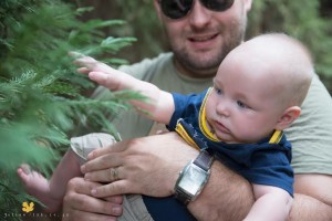 baby and tree