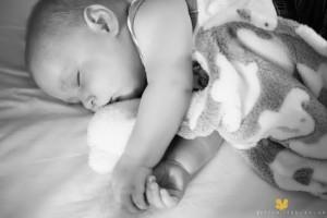 black and white baby
