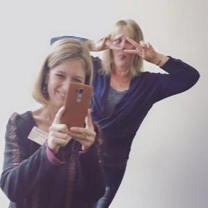 Sharon van Wyk and Heather Step
