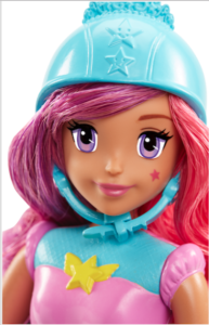 Barbie Video Game Hero ​Memory Game Doll face