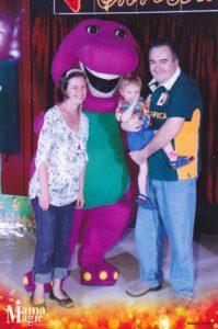 mama magic Barney