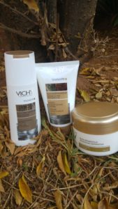 Dry Hair? Vichy Cares. Plus win hair products that suit your hair.