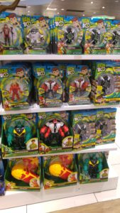 Ben Ten toys in the shop