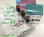 Win a prenatal vitamin hamper from Chella-Preg