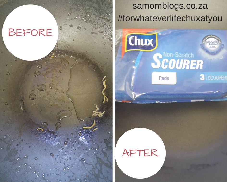 {Product Review} A scourer that cleans without scratching
