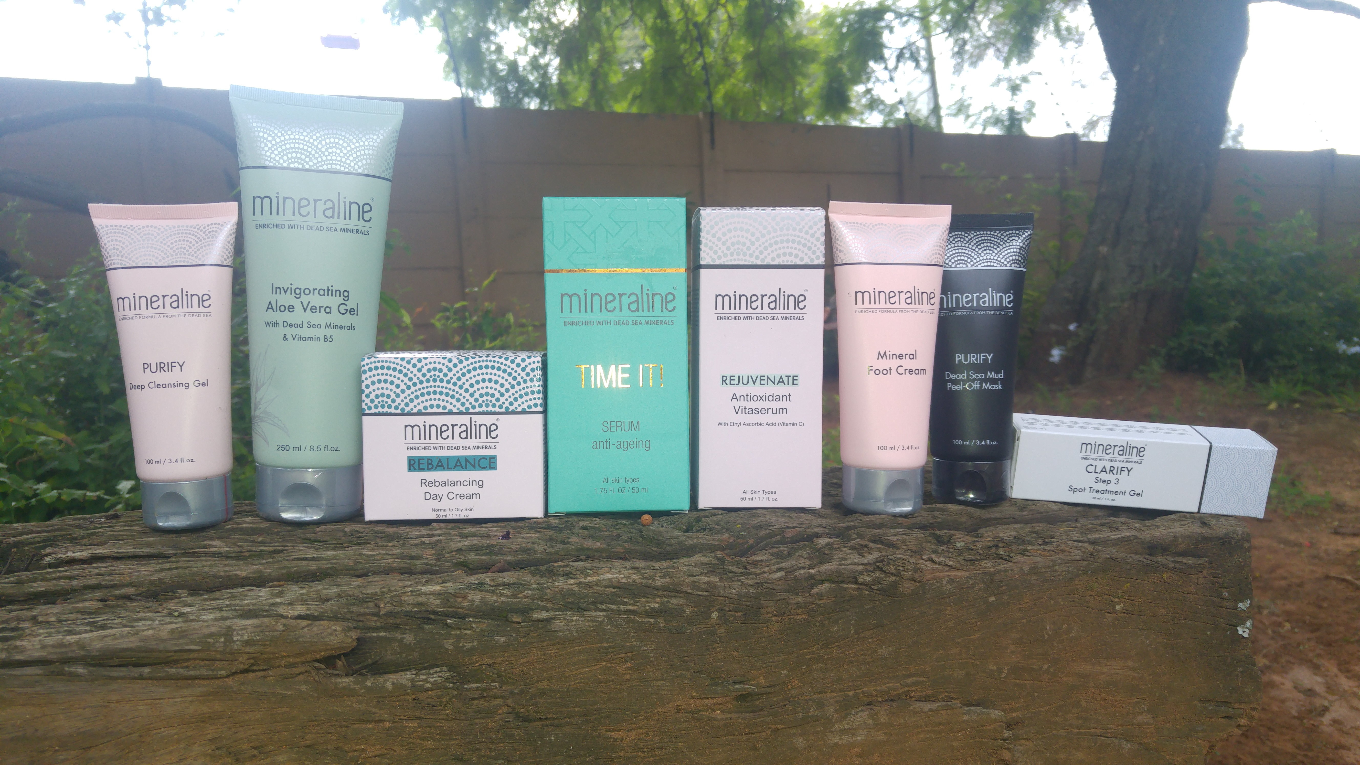 Product Review} Dead Sea skin care with Mineraline - South